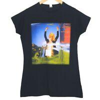 The Kooks Australian Japan 2011/12 Tour Womens T-Shirt Top Size Large Black