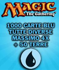 LOTTO BULK 1000 CARTE BLU MAGIC THE GATHERING PREZZO STRACCIATO!!! ITA/ENG