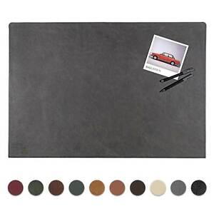 Centaur Schreibtischunterlage 55x80 Leder Schreibunterlage mit 90° Kantenschutz