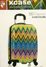 Heys Xcase Hard Shell 4 Wheel Spinner Carry On Cabin Suitcase Hand Luggage 56cm
