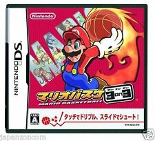 Used DS Mario Basket 3 on 3 NINTENDO JAPANESE IMPORT