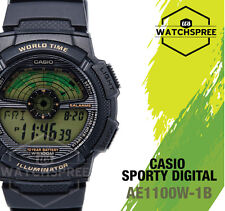 Casio Standard Digital Sporty Design Watch AE1100W-1B