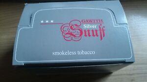 (EUR 24,00 / 100 g) 10 x 10g Gawith Silver Snuff von Pöschl  Schnupftabak