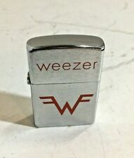 Weezer Zippo Stlye Cigarette Lighter New In Package, Free Shipping