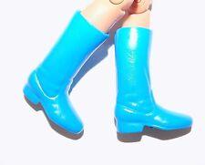 """Mego Castaway custom light blue boots for 8"""" action figures"""