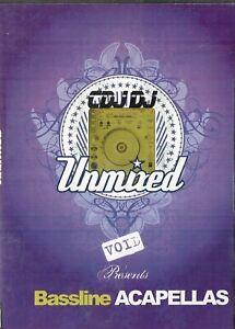 Unmixed Bassline Acapellas Vol 2 DJ ONLY