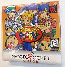 NeoGeo Pocket Color MAGICAL DROP POCKET New Sealed!!! Very Rare