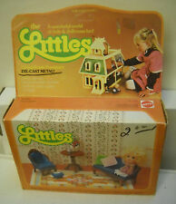#7341 NRFB Vintage Mattel the Littles - Hedy Littles & Living Room Furniture Set