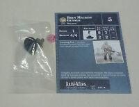 Axis & Allies Miniatures D-Day Bren Machine Gunner #8/45 NEW A&A