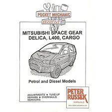 Pocket Mechanic for Mitsubishi Space Gear, Delica L400, Cargo Petrol/Diesel