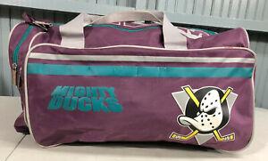 Disney Mighty Ducks Hockey CCM Duffle Rare Equipment Hockey Bag Zip