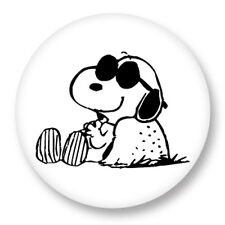 Pin Button Badge Ø38mm Snoopy Peanuts Charlie Brown Comic strip