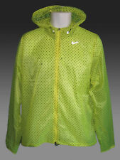 NIKE CYCLONE VAPOR Men's Running Cycling Rain Jacket ultra-lightweight Yellow M