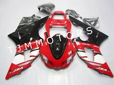 For YAMAHA YZF R1 1998 1999 ABS Injection Mold Bodywork Fairing Kit Red Black
