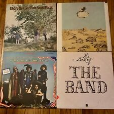 The Band~Country Joe & The Fish~Donovan~The Small Faces lot of (4) LPs