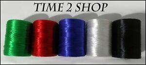 5 X Floss Thread Spool Bright 5 Basic Colors Machine Embroidery Thread | UK