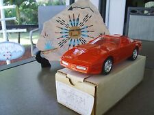 Nib 1990 Corvette Promo 1/25 Red Conv Dealer Issue America's Only Sport Car Nice