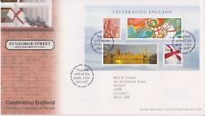 TALLENTS GB ROYAL MAIL FDC 2007 CELEBRATING ENGLAND STAMP SET