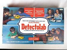 1977 Electronic Detectolab Master Detective Kit DL-53 Minilabs Science And Tech