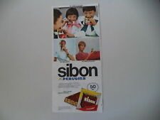 advertising Pubblicità 1968 PERUGINA SIBON