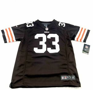 Trent Richardson Cleveland Browns Nike On Field NFL #33 Jersey Youth Large 14/16
