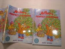 Arthur's Perfect Christmas, Marc Brown, DJ, 1st Edition, 2000