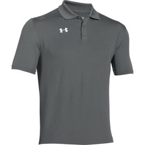Under Armour Men's NEW Team Armour Golf Polo T-Shirts UPF 30+ Solid Sports Tee