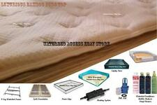 KING SOFTSIDE WATERBED with Luxurious Bamboo Euro Top Mattress