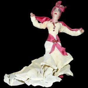 Vintage PRE-CASTRO original 1953 Cuban Carnival Rumba Doll