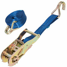 Silverline Heavy Duty 1 Ton Cargo Lash Strap For Retaining Securing Load New