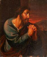Unbekannter Künstler - Petrus / Maria Magdalena - Öl auf Holz - um 1800