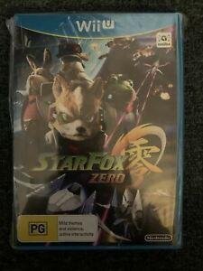 WiiU Star Fox Zero Game, StarFox Wii U Game Brand New Sealed 🇦🇺 PAL