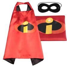 Halloween Costume Superhero Mr Incredible Cape and Mask for Kids Boy / Girl