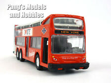 """5.5 inch Double Decker """"I Love NY"""" Tour Bus Scale Diecast Metal Model"""