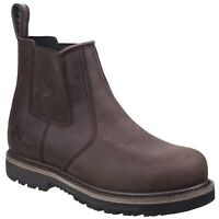Amblers AS231 SKIPTON Waterproof Brown Dealer Safety Boot |6-12|