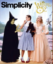 Simplicity 7808 Women's Sewing Pattern Wizard of Oz Costumes Size 12 to 16 UNCUT