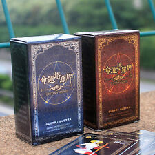 72pcs Destiny Tarot Fortune Telling Cards Table Games Funny Toys Tool Set NEW