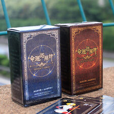 72pcs Destiny Tarot Fortune Telling Cards Table Games Funny Toys Tool Set Gifts
