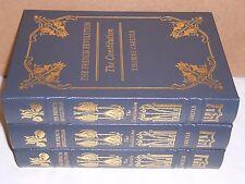 Easton Press THE FRENCH REVOLUTION Bastille Guillotine Constitution in 3 vols