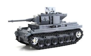 German Panzer Tank World War 2 Complete Set made w/ real LEGO® bricks