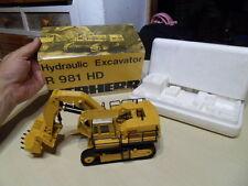 Vintage toys jouet CEF exclusivité COFRADIS Pelle Hydraulique Liebherr R981 HD