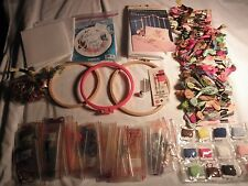 DMC NEEDLE POINT CROSS STITCH THREAD YARN 107 PIECES ASSORTED=loops =......