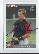 John Buck Signed 2004 Topps Total Card #109