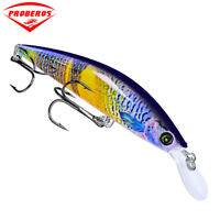"""1Pc Fishing Lure Minnow 4.33""""-11cm/0.9oz-25.5g With 4# Hook Fishing Bait 6Colors"""