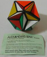 Vintage 1982 Ideal ALEXANDER'S STAR brain teaser twist puzzle -- Free Shipping!