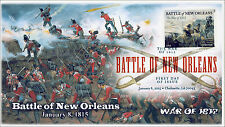 15-011, 2014, Battle of New Orleans, War of 1812, DCP, FDC,