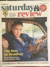 UK Times Review 7 October 2017 Bruce Springsteen Kelsea Ballerini Robin Ticciati