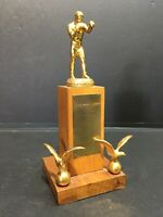 Vintage 1958 Boxing RCAF Trophy Marville France Canadian Military - 9.5""