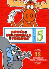 ROCKY AND BULLWINKLE AND FRIENDS: THE COMPLETE SEASON 5 NEW DVD