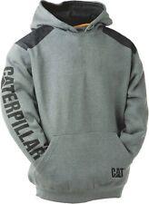 CAT Caterpillar Logo Panel Sudadera Con Capucha Resistente Trabajo